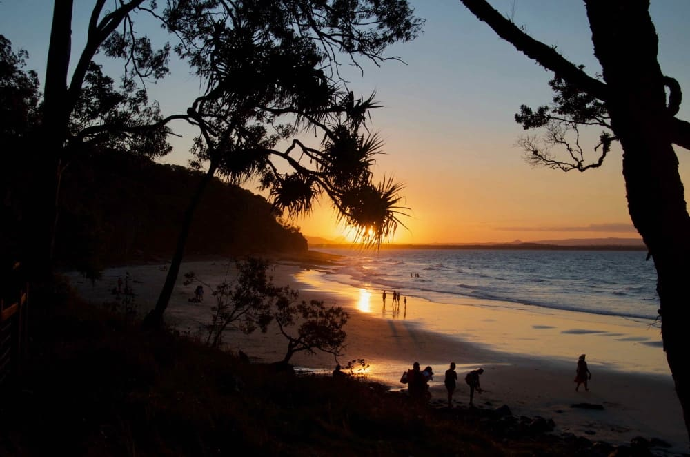 sunset Noosa