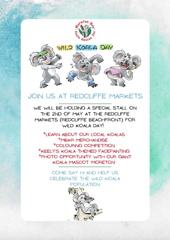 Moreton Bay Koala Rescue Wild Koala Day 2021