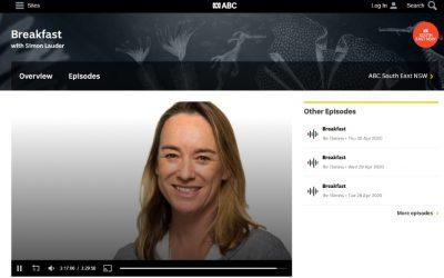Eurobodalla Koalas interviewed on ABC Radio